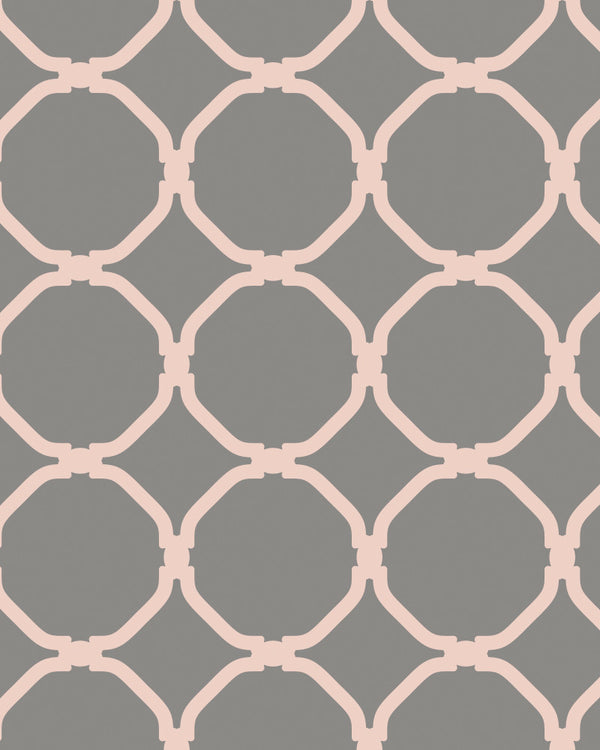 Chic Circles Wallpaper