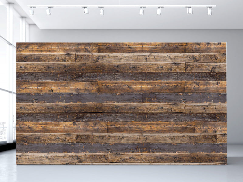 Charmant Reclaimed Wood Wall Mural