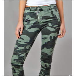 Melly and Co Jeans - Dark Camouflage