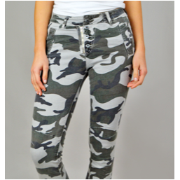 Melly and Co Jeans - Light Camouflage
