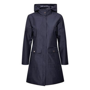 Saint Tropez Ladies Coat - Deep Blue