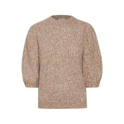 Saint Tropez Ladies Jumper - Terra Cotta Melange