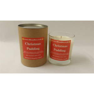 Ellie and Bea Christmas Pudding Candle (220g)