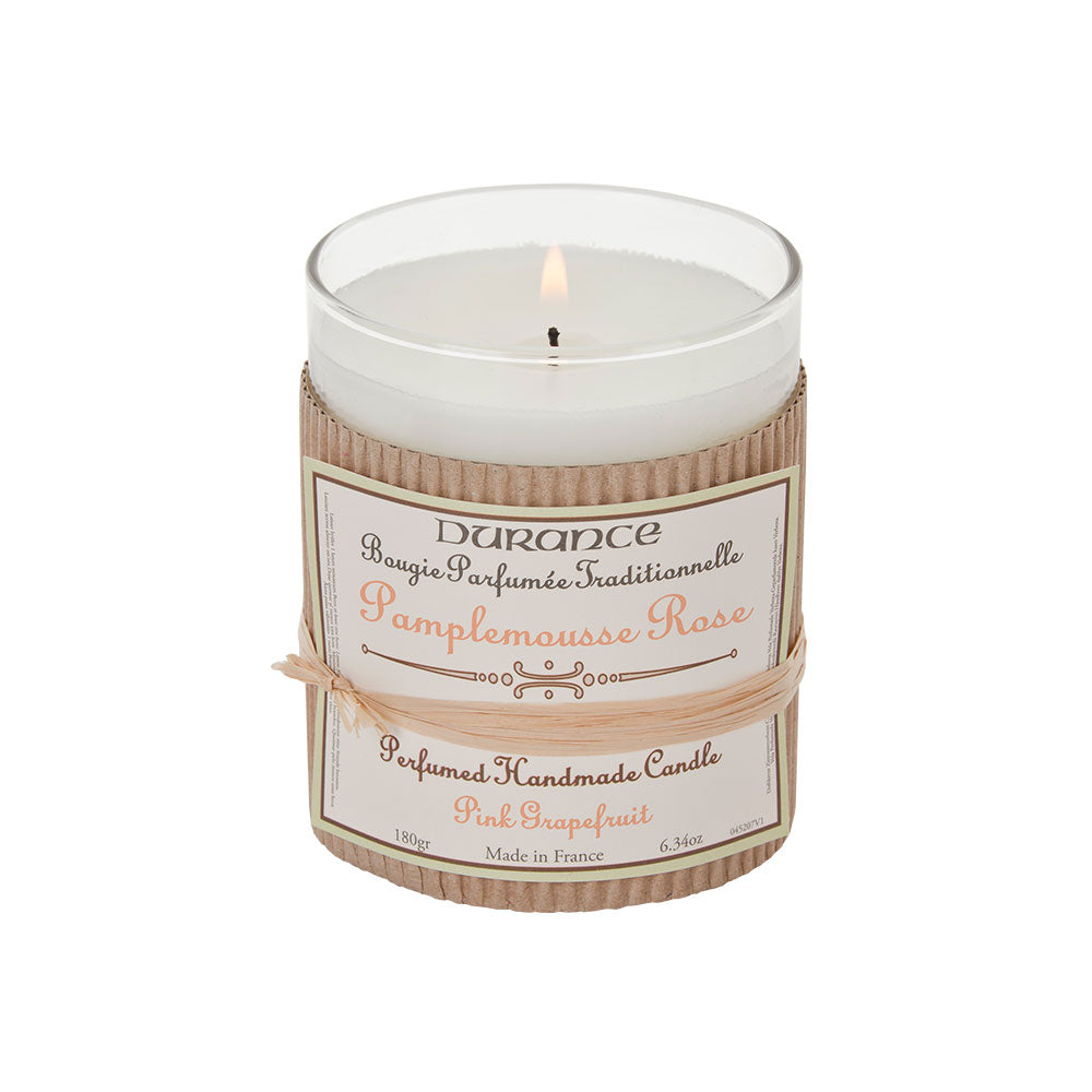 Durance Perfumed Candle 180g Pink Grapefruit