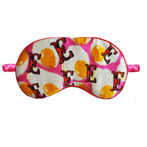 Silk Eye Mask - E is for Eggs