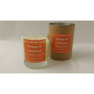 Ellie and Bea Orange & Cinnamon Candle (220g)