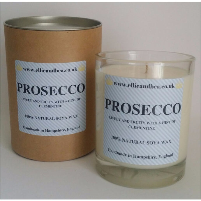 Ellie and Bea Prosecco Candle (220g)