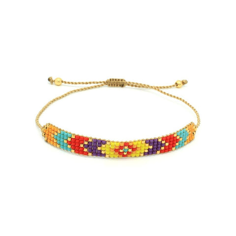 """Shine"" Multicoloured Friendship Bracelet - we are taking advance orders and will ship the bracelet in 2 - 3 weeks"