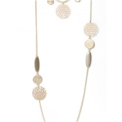 Envy Long Necklace - Gold