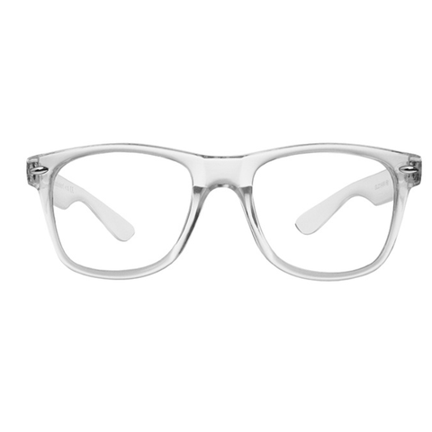Unisex Big Billi Reading Glasses - Clear