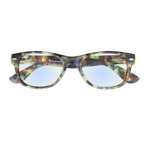 Unisex Billi Reading Glasses Blue Light - Multi Tortoiseshell