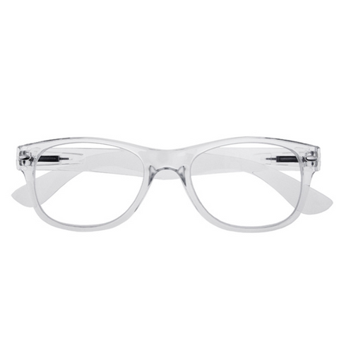 Unisex Billi Reading Glasses - Clear