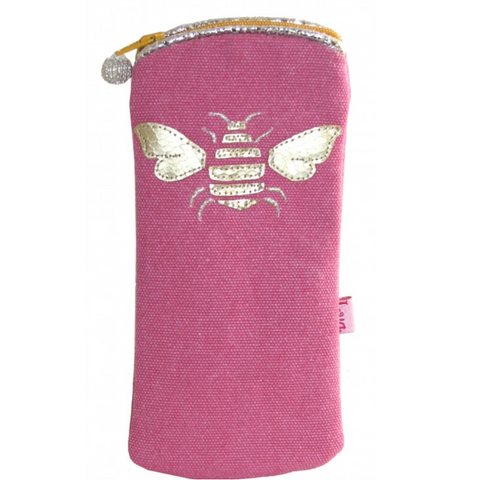 Bee Glasses Purse - Pink