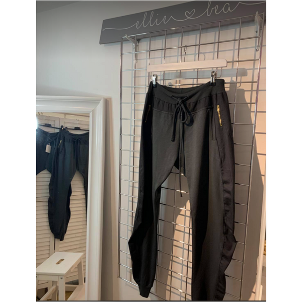 Ellie and Bea Cuffed Joggers - Graphite Grey