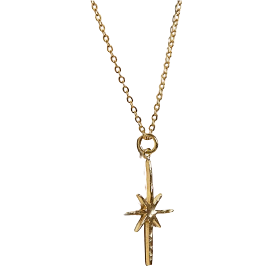 Gold Northern Star Necklace
