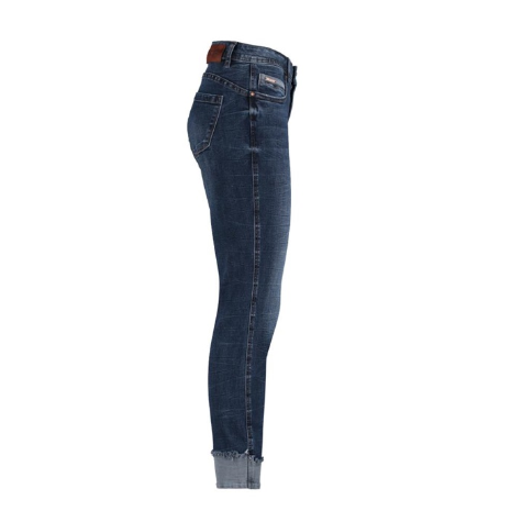 Red Button LULU dark stone (Blue Denim) turn-up jeans was £65 now £32.50