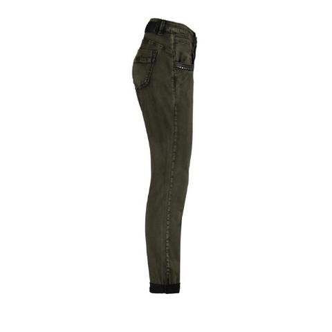 Red Button Ladies Jeans - Lulu Siena Khaki