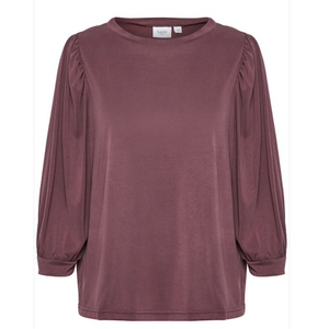 Saint Tropez Clia Long Sleeved Tee  - Huckleberry