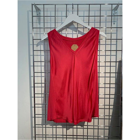 Silk V-Neck Vest (5 colours available)