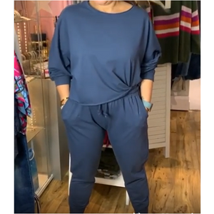 Ellie and Bea Crew Neck Lounge Suit