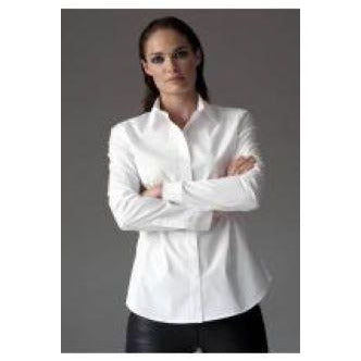 Classic Easy Fit White Ladies Shirt
