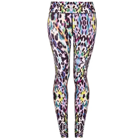 Higher Waisted Sports Luxe Leggings - Rainbow Magic