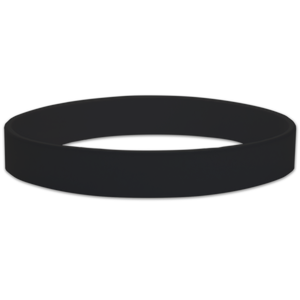 blank silicone rubber  wristbands