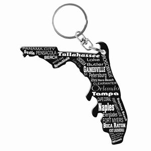 Florida Key Chain Bottle Opener