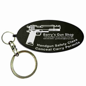 Gold Oval Shaped Anodized Aluminum Key Chain with Laser Engraved Custom Logo Personalized