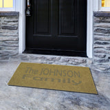 Personalized Doormat Welcome Mat for Wedding Closing Housewarming Gift