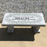 Concrete Bench 39x15