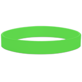 Light_Green Blank Half Inch Wristband