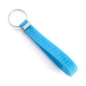 Wristband Debossed Key Chain