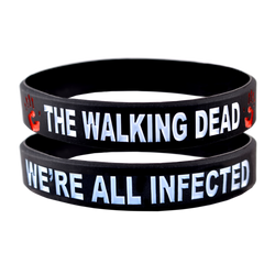 The Walking Dead Bracelet We're All Infected- 2 Pack
