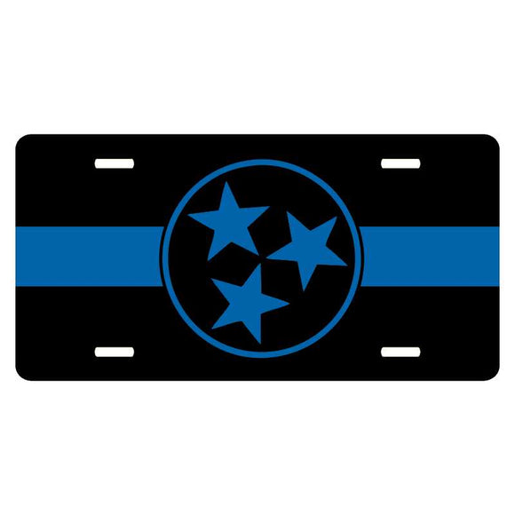 Thin Blue Line Tennessee Tri-Star