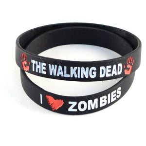 The Walking Dead I ❤ Zombies Wristband - 2 Pack