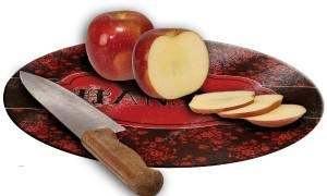 Glass Cutting Board - Round