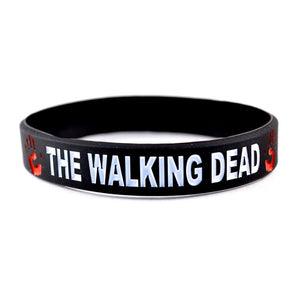 The Walking Dead Bracelet Wristband - 2 Pack