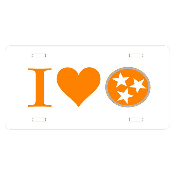 Tennessee Tri-Star I HEART