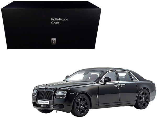 Rolls Royce Ghost Diamond Black 1/18 Diecast Model Car by Kyosho