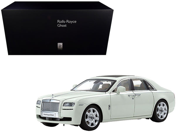 Rolls Royce Ghost English White 1/18 Diecast Model Car by Kyosho