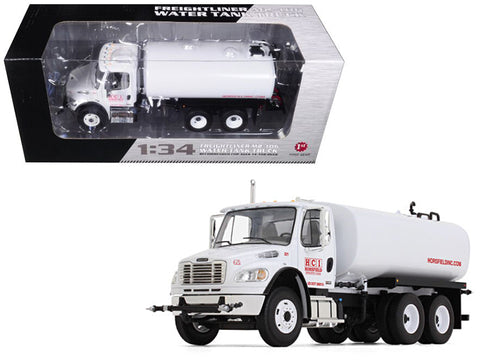 Freightliner M2-106 Water Tank Truck Horsfield Construction (HCI) 1/34 Diecast Model by First Gear