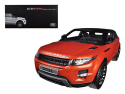 Range Rover Evoque Orange 2 Doors 1/18 Diecast Model Car by Welly