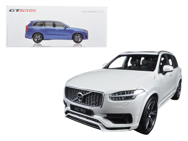 2015 Volvo XC 90 White 1/18 Diecast Model Car -  GT Autos by Welly