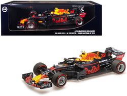 "TAG Heuer RB14 #33 Max Verstappen Winner Formula One F1 Austrian GP (2018) ""Aston Martin Red Bull Racing"" Limited Edition to 402 pieces Worldwide 1/18 Diecast Model Car by Minichamps"