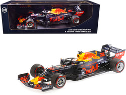 Aston Martin Red Bull Racing Tag Heuer RB15 #33 Max Verstappen Winner Formula One F1 German GP (2019) Limited Edition to 504 pieces Worldwide 1/18 Diecast Model Car by Minichamps