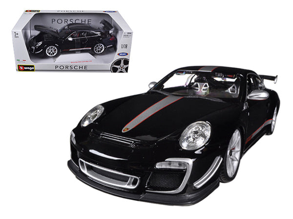 Porsche 911 GT3 RS 4.0 Black 1/18 Diecast Model Car by Bburago