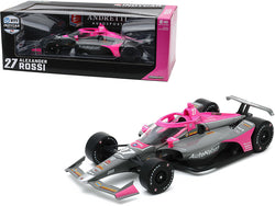 "Dallara IndyCar #27 Alexander Rossi ""AutoNation"" Andretti Autosport ""NTT Indy Car Series"" (2020) 1/18 Diecast Model Car by Greenlight"