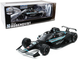 "Dallara IndyCar #10 Felix Rosenqvist ""NTT Data"" Chip Ganassi Racing ""NTT Indy Car Series"" (2020) 1/18 Diecast Model Car by Greenlight"