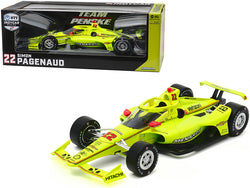 "Dallara Indy Car #22 Simon Pagenaud ""Menards"" Team Penske ""NTT Indy Car Series"" (2020) 1/18 Diecast Model Car by Greenlight"